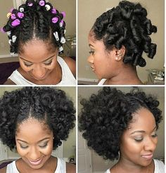 NEW Perm Rod Set on natural hair pictures. Natural Hair Perm Rods, Natural Hair Tips, Natural Hair Styles, Natural Hairstyles Photos, Cool Hairstyles, Hairstyle Photos, Beautiful Hairstyles, Hairstyle Ideas, Best Hair Mousse