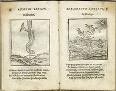 Andrea Alciato, Emblemata (Ausburgo: Steyner, 1531) con grabados de Jörg Breuil.