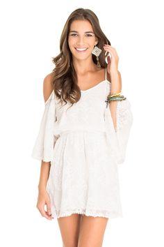 Vestido ombro vazado - Vestidos | Dress to