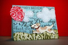 *Happy Birthday Doggie* Card