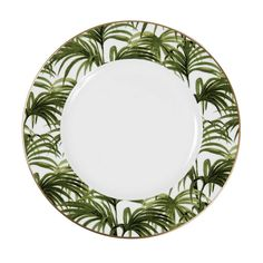 PALMERAL Plate - White / Green - Want SO badly!