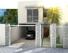 Sobrado em Curitiba para uma jovem família. O projeto tem 150 m² e foi publicado na revista ARQUITETURA & CONSTRUÇÃO