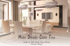 Dining room design by Iwona Klęczaj JOJO design. More: http://jojo-blog.pl/luksusowe-wnetrza-jadalnia/