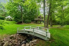 32 Three Wells Ln, Darien, CT 06820 | MLS #36117 | Zillow Heated Garage, Gunite Pool, Patio Gazebo, Fenced In Yard, Garden Bridge, Vegetable Garden, Acre, The Neighbourhood, Family Room