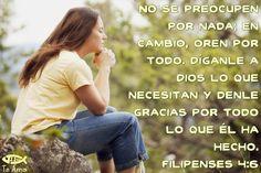 Filipenses 4:6 facebook.com/jesusteamamgaministries