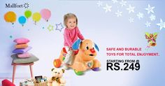 Best toys collection for your baby starting @ Rs.249 Shop Now -