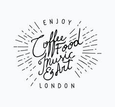 the london coffee festival / coffee food music art!