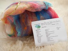 Phat Fiber Sample Box: Woodland Hills Alpacas BooYa Batt giveaway!
