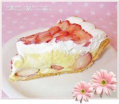 """ハーブスのケーキ """"ストロベリーパイ"""" (HARBS) - コロコロ CORY ~ケーキ&お菓子~"""