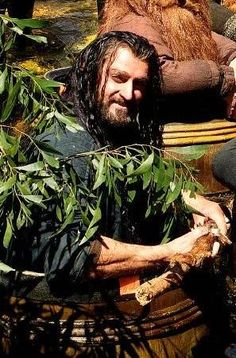 Thorin smiles Thorin is Richard Armitage in The Hobbit,the Desolation of Smaug You remember this part of the movie, right? It was on the Pelorus River on the South Island of New Zealand. Marlborough....wine country. We are going to camp there. Glam-camping. Start looking for your tent and fixin's. Store them on your own board to pull later. We will be there on Feb 16th after crossing on the ferry. We will hike, bike, ride the river,.your choice. You don't need a dozen, just one...
