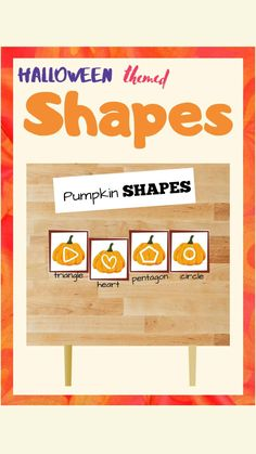 Early Learning Activities, Fun Activities For Toddlers, Holiday Activities, Preschool Activities, Diy Quiet Books, Halloween Themes, Halloween Decorations, How To Teach Kids, Shape Crafts