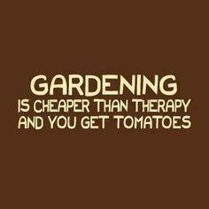 I wish I had a garden :)