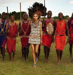 Olivia Palermo the Maasai Project for Pikolinos   ESTRADA FOOTWEAR - Spring/Summer 2013 campaign   oliviapalermo.com