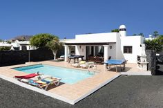 Take A Look At Villa Papagayo In Playa Blanca, Lanzarote Villa Plus, Villa With Private Pool, Heated Pool, Us Travel, Spain, Mansions, House Styles, Outdoor Decor, Home Decor