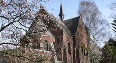 SintAnna B&B PetitHotel is located in a former Roman Catholic church in Yerseke. #bedandbreakfast #visitholland #unique