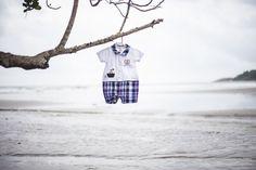 Jaci e Leandro - Fotografia de Gestante, grávida, roupinha de bebê Realizado na Praia do iporanga, Guarujá/SP Por Stephânia de Flório fotografia Maternity photo on the beach