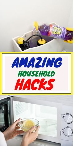 Use these epic spring cleaning hacks to keep your house spotless all year long. Cleaning your house will never be the same after learning these tips. #easycleaning #cleaninghacks #householdhacks #cleaningtips #householdtips #cleanerrecipe