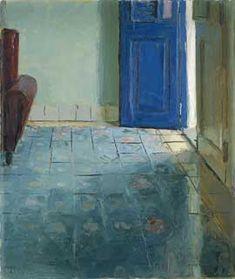 Blue Tile, oil, 12 x 10.  Kenny Harris.
