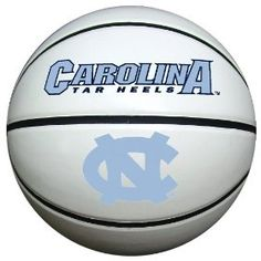 North Carolina Tar Heels Official Size Synthetic Leather Autograph Basketball