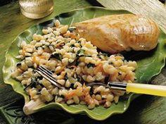 Spinach Orzo Recipe from Betty Crocker
