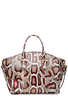 Legend Python Leather Tote