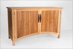 Materials: Olive ash, ash, wenge.  Dimensions: 720mm (h) x 1172mm (w) x 490mm (d)