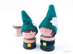 Leprechaun Peg Dolls - St Patrick's Day Crafts