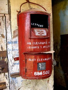 Post box from India