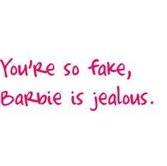 Fake beyond barbie!