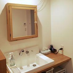 Bathroom/IKEA/洗面台/ブラウン/リクシル/ピアラ...などのインテリア実例 - 2017-11-15 14:01:59 | RoomClip (ルームクリップ)