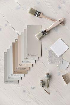 Jotun Lady Color Chart 2019 // My favorites Interior Paint Colors, Paint Colors For Home, Home Interior Design, Interior Painting, Interior Decorating, Wall Colors, House Colors, Colours, Color Inspiration