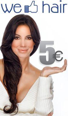Gagnez 5€ en devenant fan.