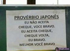 Antigo provérbio japonês