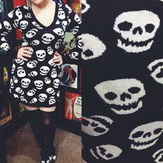 Skulls, skulls, skulls! #blamebetty #skulls #punkrock