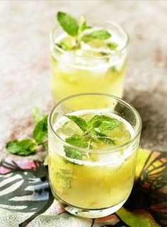 This Pineapple Mint Punch recipe is a must-make.