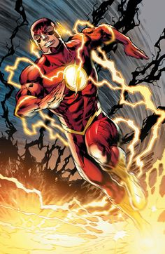 The Flash . The Flash (or simply Flash) is the name of several superheroes appearing in American comic books published by DC Comics. Flash Comics, Arte Dc Comics, Dc Comics Art, Comic Books Art, Comic Art, Book Art, Marvel Universe, Superman, Batman Spiderman