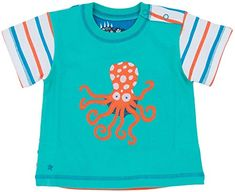 Hatley   Baby Baby Boys Boys Tee Sea Creature Green 12 18 Months ** Continue to the product at the image link. (This is an affiliate link) #BabyBoyTops