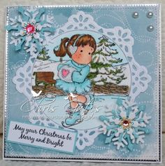 Ice Tilda, Sweet Christmas dreams collection, Magnolia stamps