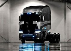 Freightliner truck that will be used in the movie Transformers 4