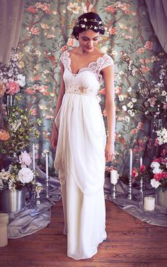 Isabella Gown - So romantic! Another fav from Brooklyn designer Schone Bridal.