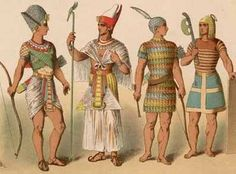 Ancient Egyptian Clothing for Men | Ancient Egyptian Fabrics and Clothing - Crystalinks