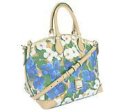 Dooney & Bourke Coated Cotton Pansy Flower Satchel - A252377