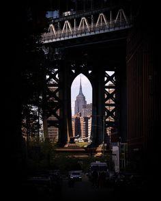 Manhattan Bridge, George Washington Bridge, Empire State Building