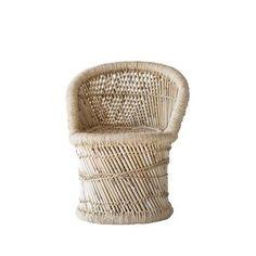 Mini chaise en bambo