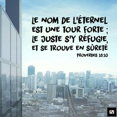 Un refuge sûr   1001 versets