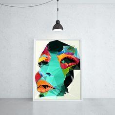 TROPICAL AGONY (KUBISTIKA Modern cubism Art | by BORIS DRASCHOFF)