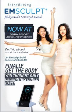 Dermatology Associates, Best Kept Secret, Sit Back And Relax, Ad Design, Build Muscle, Fat Burning, Sculpting, Thinking Of You, Banner