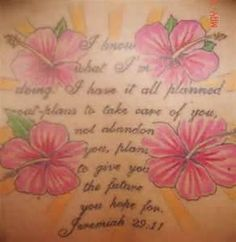 Image Search Results for jeremiah 29 11 tattoos