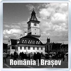 $3.29 - Acrylic Fridge Magnet: Romania. Brasov. Council Square