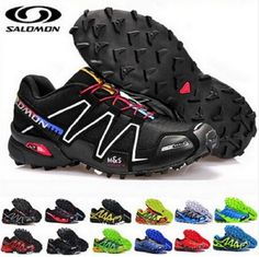 Salomon Speedcross 3 M Scarpe Uomo Da Corsa Trail Outdoor Nuovo